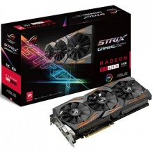 Asus Radeon RX 480 Strix Gaming OC Aura RGB 8192MB GDDR5 PCI-Express Graphics Card 90YV09K0-M0NA00